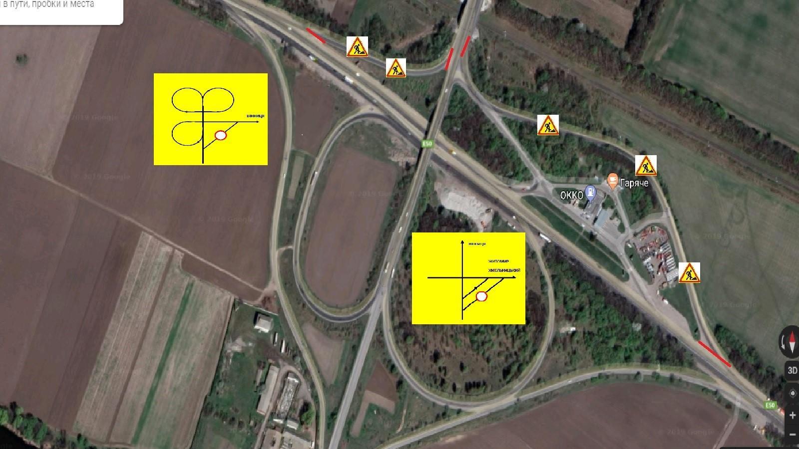 На в'їзді у Вінницю тимчасово змінять схему дорожнього руху