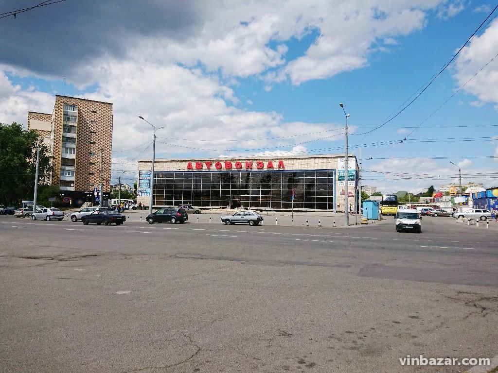 На Центральному автовокзалі Вінниці триває ремонт (Фото)