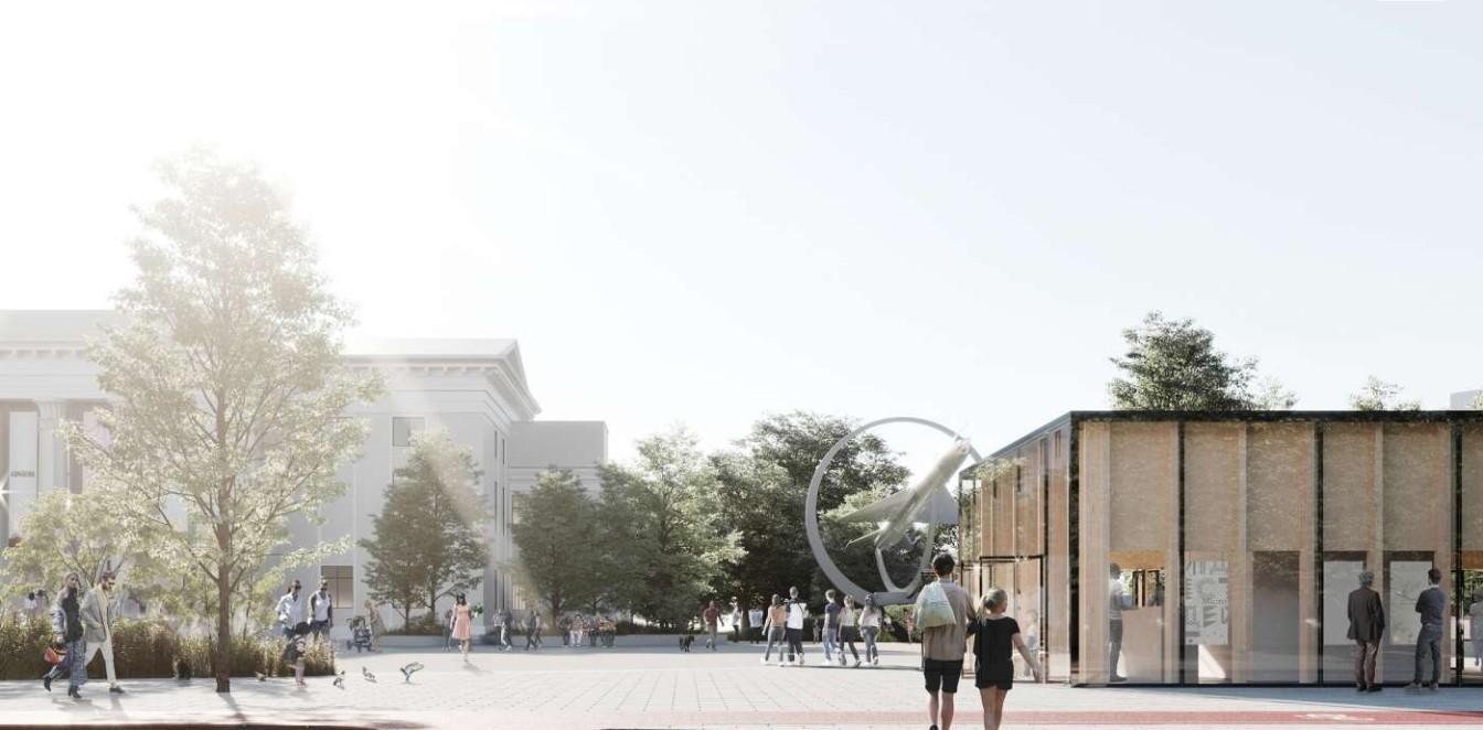 У Вінниці оновлять площу Перемоги. Представили проект реконструкції (Фото)
