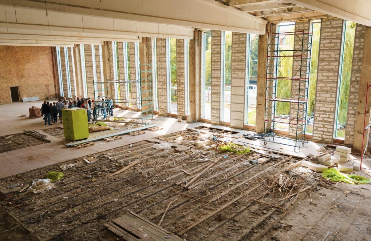 На Замості реставрують спортивний комплекс за 45 мільйонів гривень (Фото)