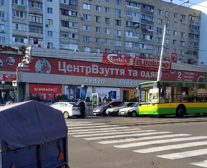 """На проспекті Коцюбинського водій """"під кайфом"""" вчинив ДТП (Фото)"""