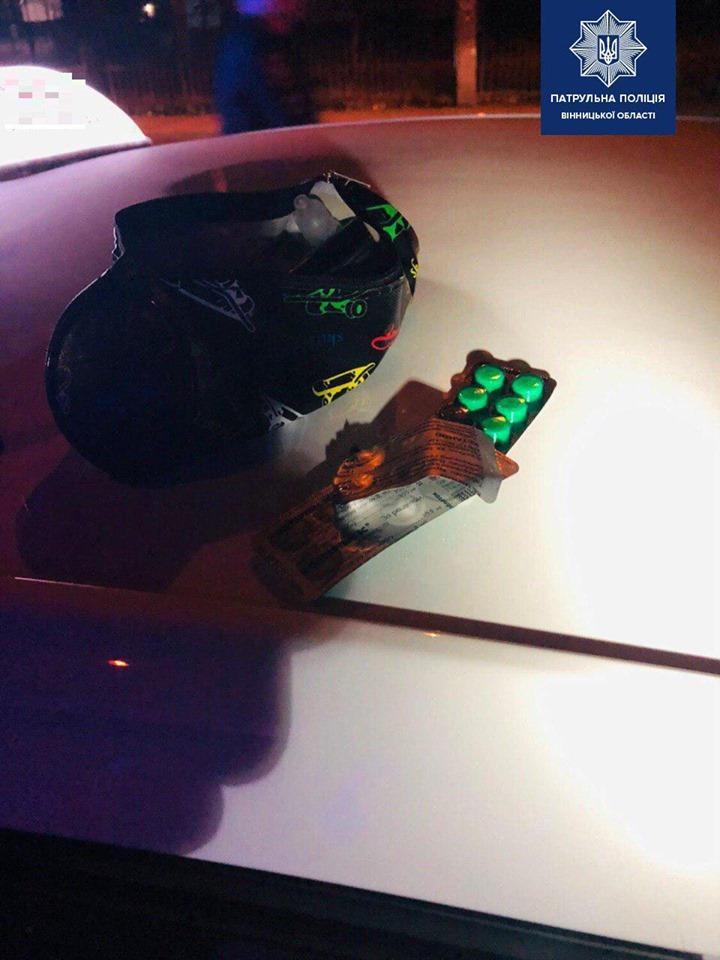 """У Вінниці затримали водія """"під кайфом"""" з підробленими правами (Фото)"""