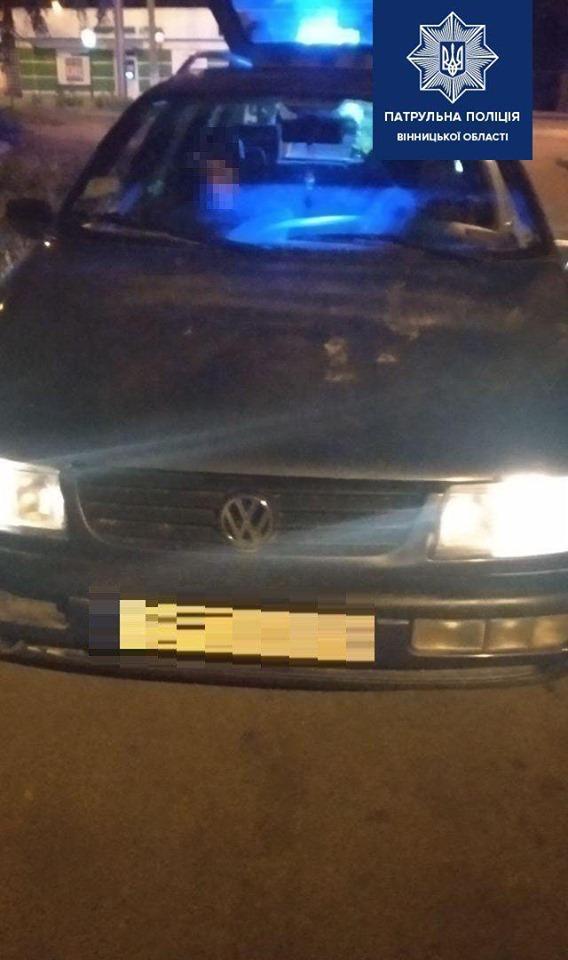 На вулиці Князів Коріатовичів затримали водія під дією амфетаміну (Фото)