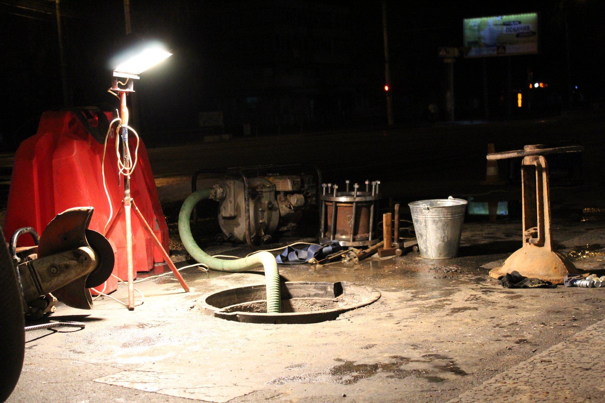 Вінниця без води: у водоканалі пояснили причини відключення(Фото)