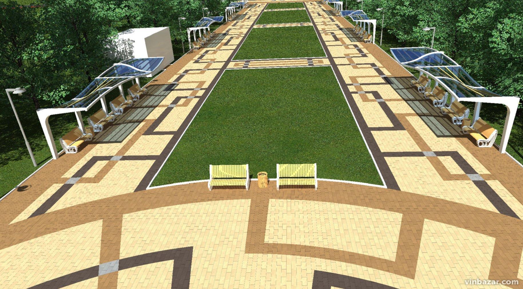В 2020 році планують реконструювати парк Дружби народів. Проект (Фото)