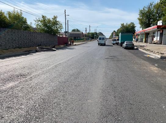 У Вінниці оновлюють дорогу по вулиці Данила Нечая (Фото)