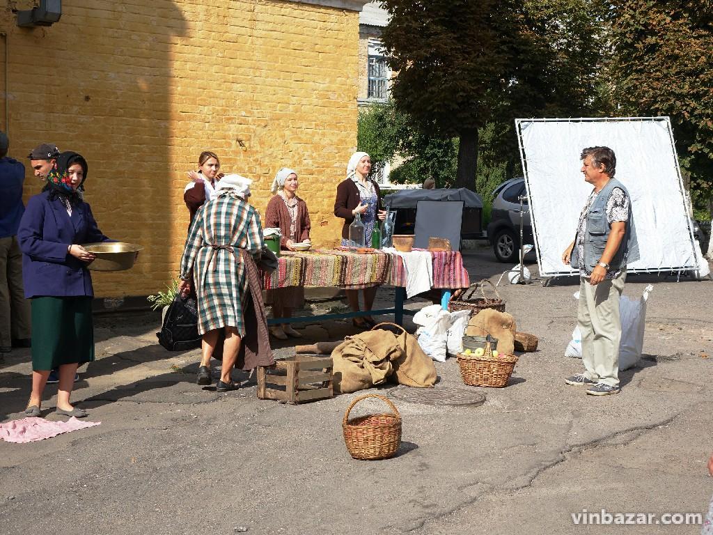 На території вінницької психлікарні знімають фільм про Другу світову (Фото)