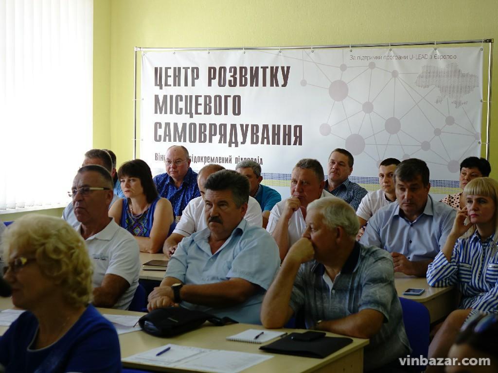Велике об'єднання: розпочалися перші обговорення щодо укруплення Вінницької області (Фото)