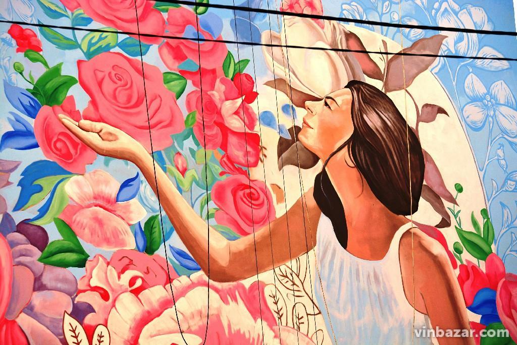 """Мурал """"Культурний код"""" прикрасив багатоповерхівку на Вишеньці (Фото)"""