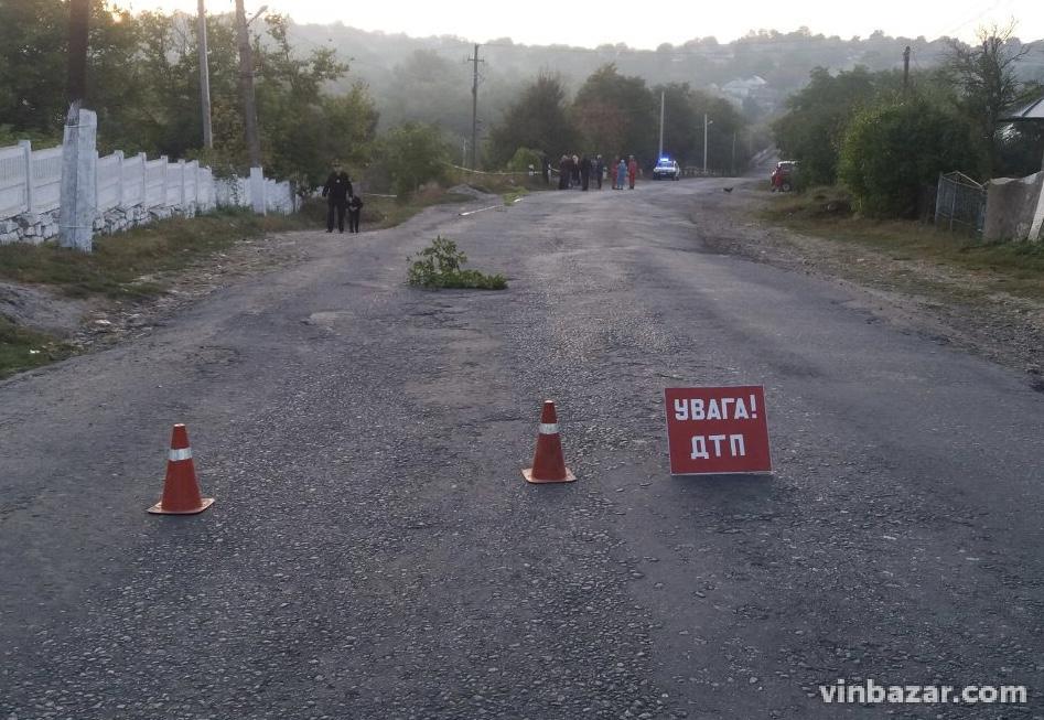 ДТП в Шаргородському районі: загинули мотоцикліст та його пасажирка (Фото)