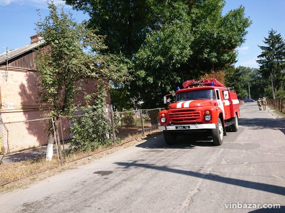 Пожежа в Калинівці. Інформація з місця події (Фото)