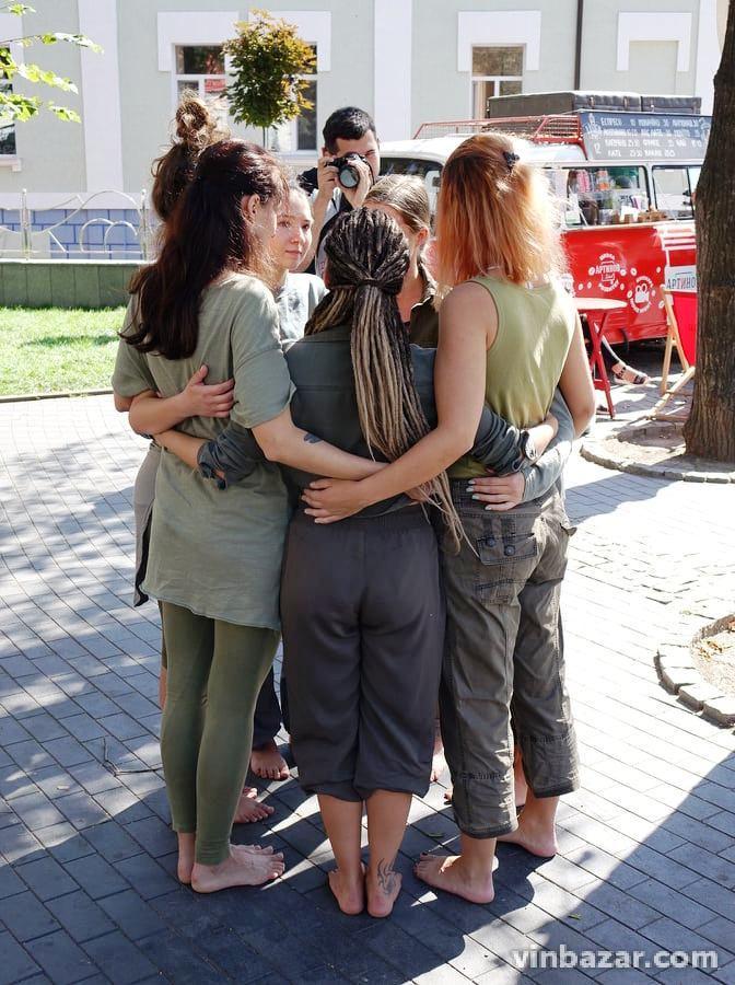 У Вінниці влаштували перформанс в рамках AIR Гогольфест 2019 (Фото)