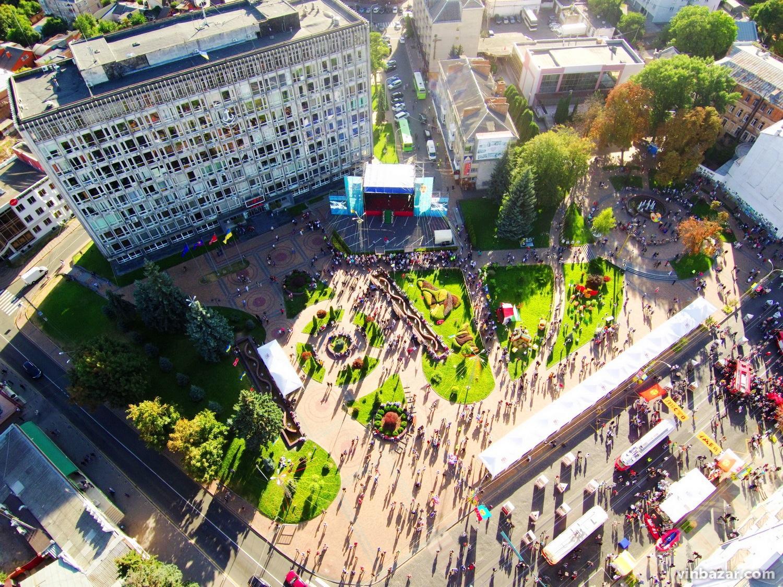 День міста Вінниці 2019 з висоти пташиного польоту (Фото+Відео)