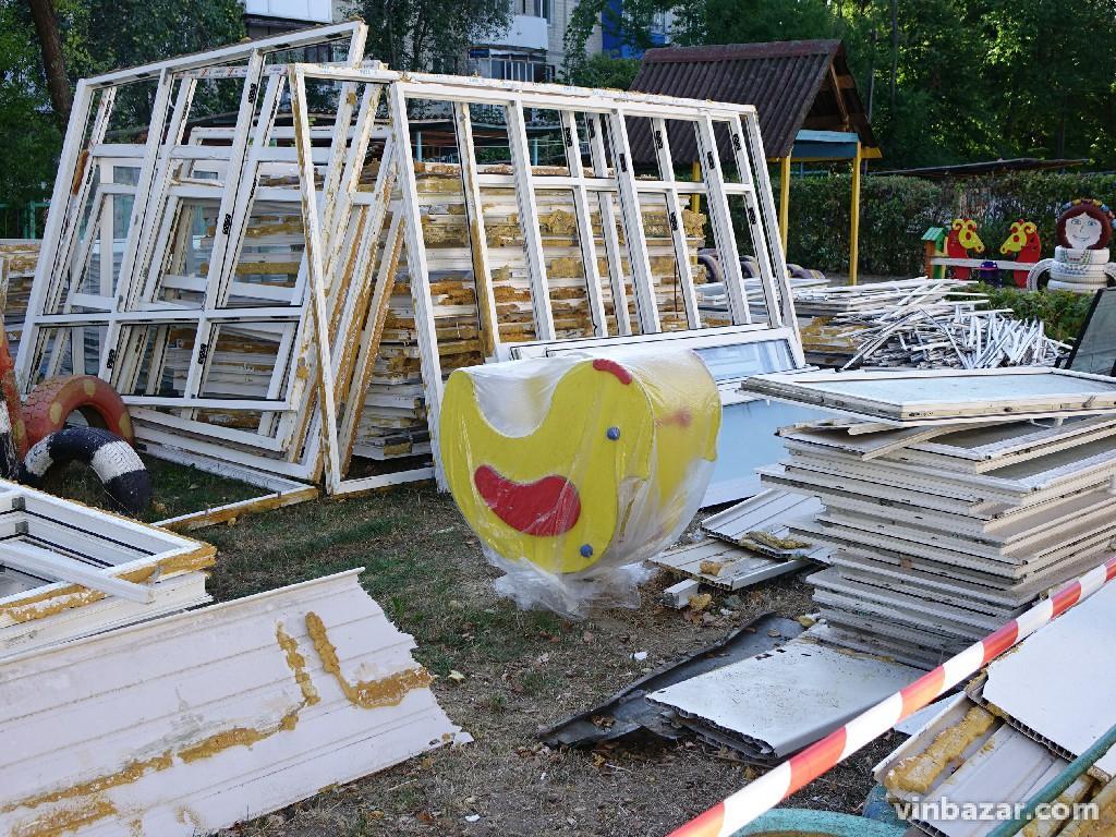 У Вінниці продовжуються роботи з утеплення дитячих садочків (Фото)