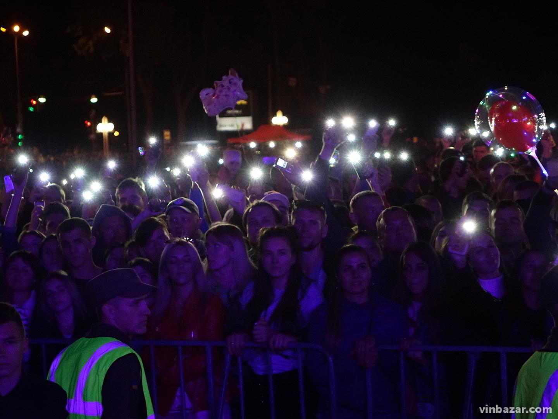 Концерт на День міста Вінниці 2019: роковий