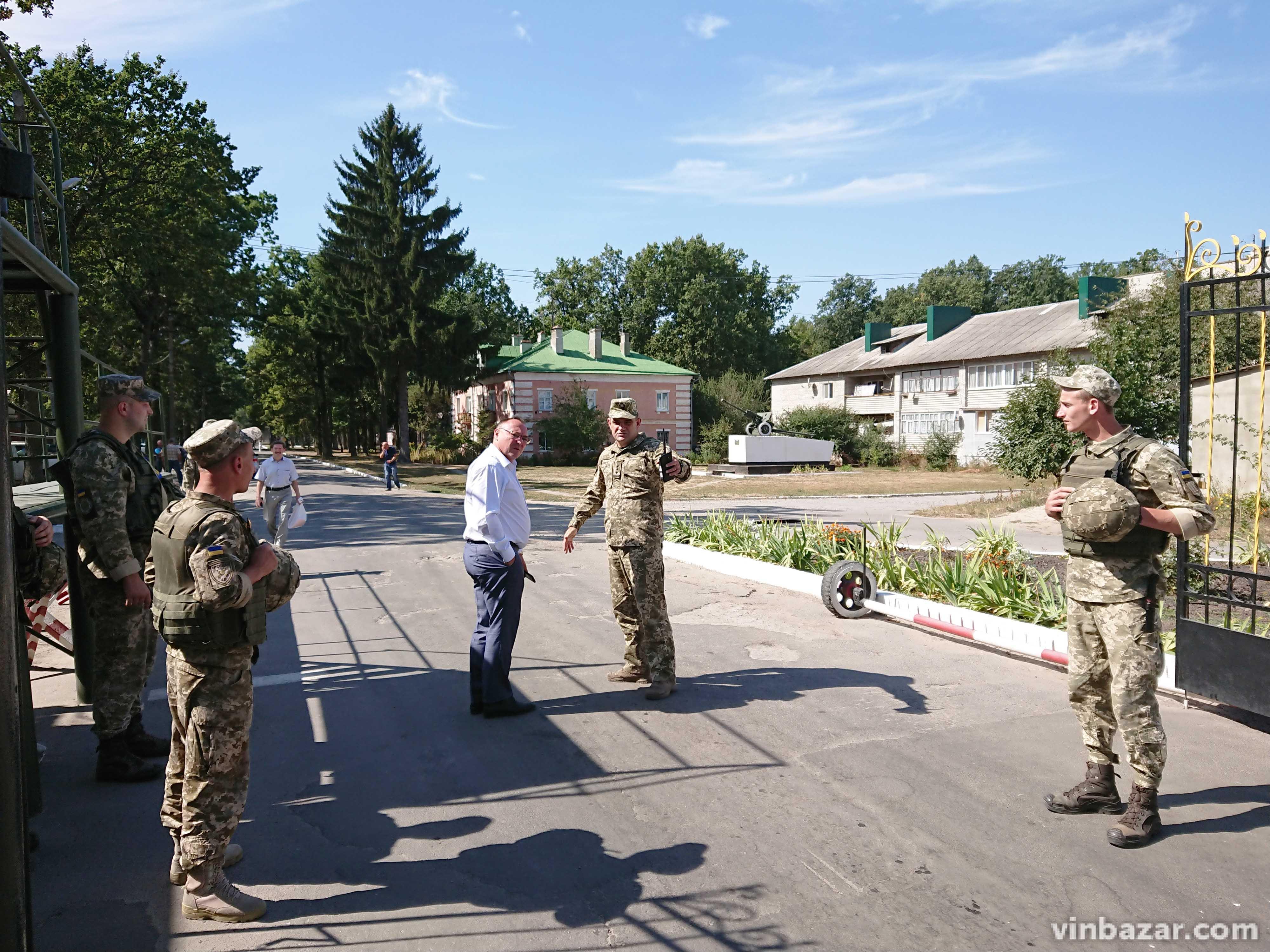 Заява голови Вінницької ОДА стосовно пожежі та вибухів на арсеналі в Калинівці (Фото)
