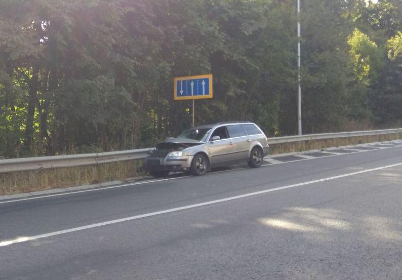 На об'їзній біля Вінниці сталася потрійна ДТП (Фото)