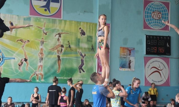 У Вінниці стартував Кубок України зі спортивної акробатики (Фото)