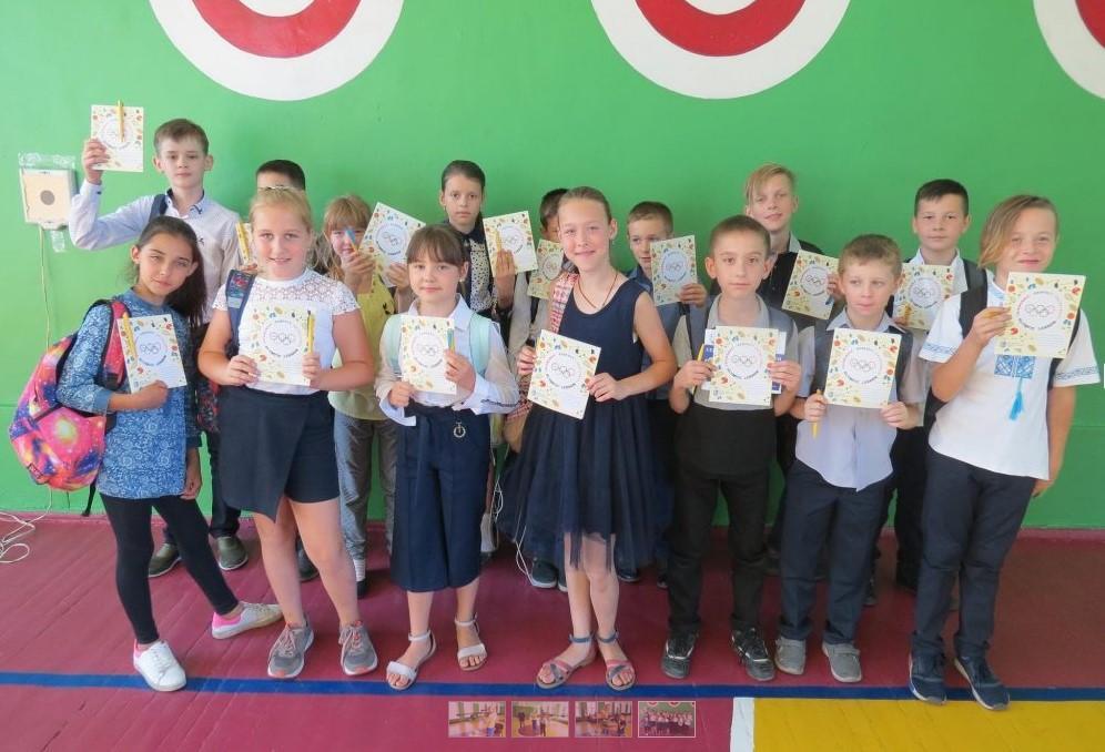 У Вінниці чемпіонка світу зі спортивної стрільби провела майстер-клас для школярів (Фото)