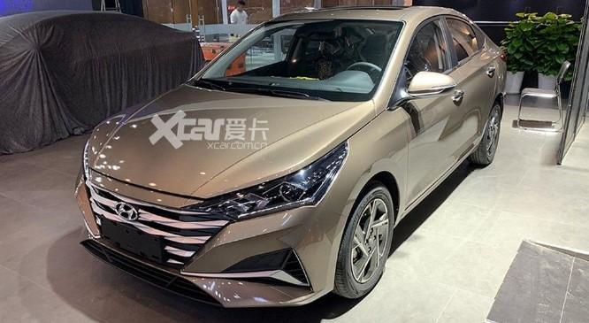Живые фото Hyundai Accent 2020