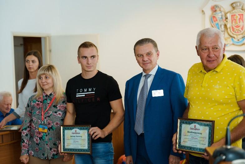 У Вінниці нагородили більше 100 спортсменів (Фото)