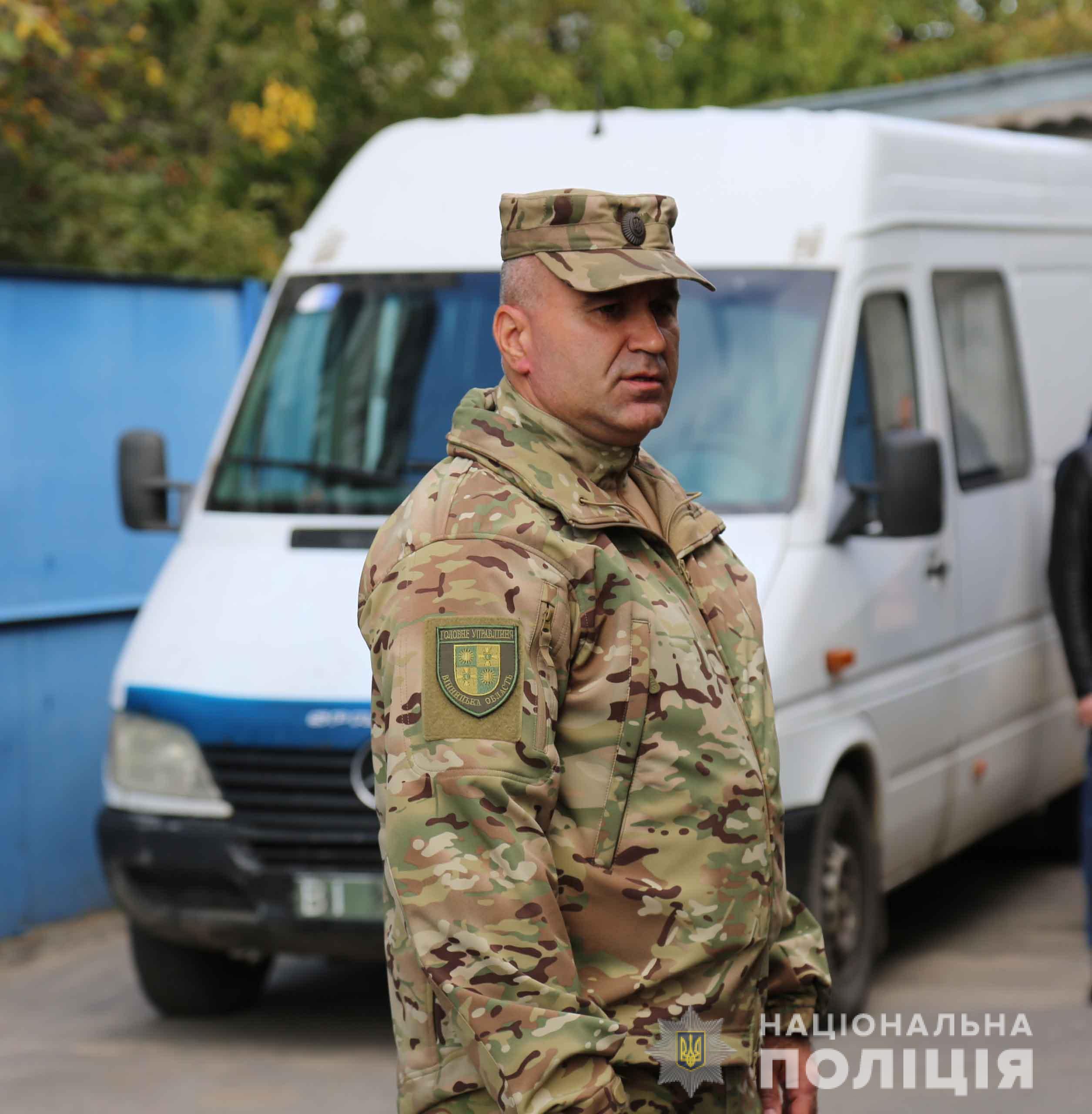 Понад 30 поліцейських з Вінниччини вирушили на Схід України (Фото)