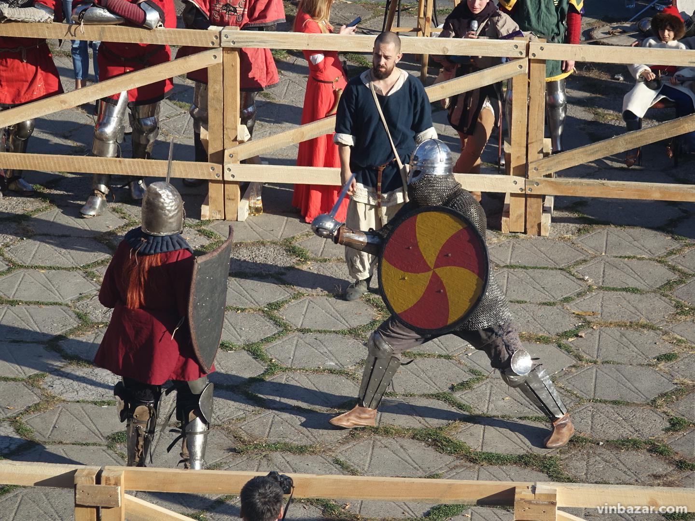 Сучасні лицарі та бої на мечах: у Вінниці стартував турнір Максима Шимка 2019 (Фото)