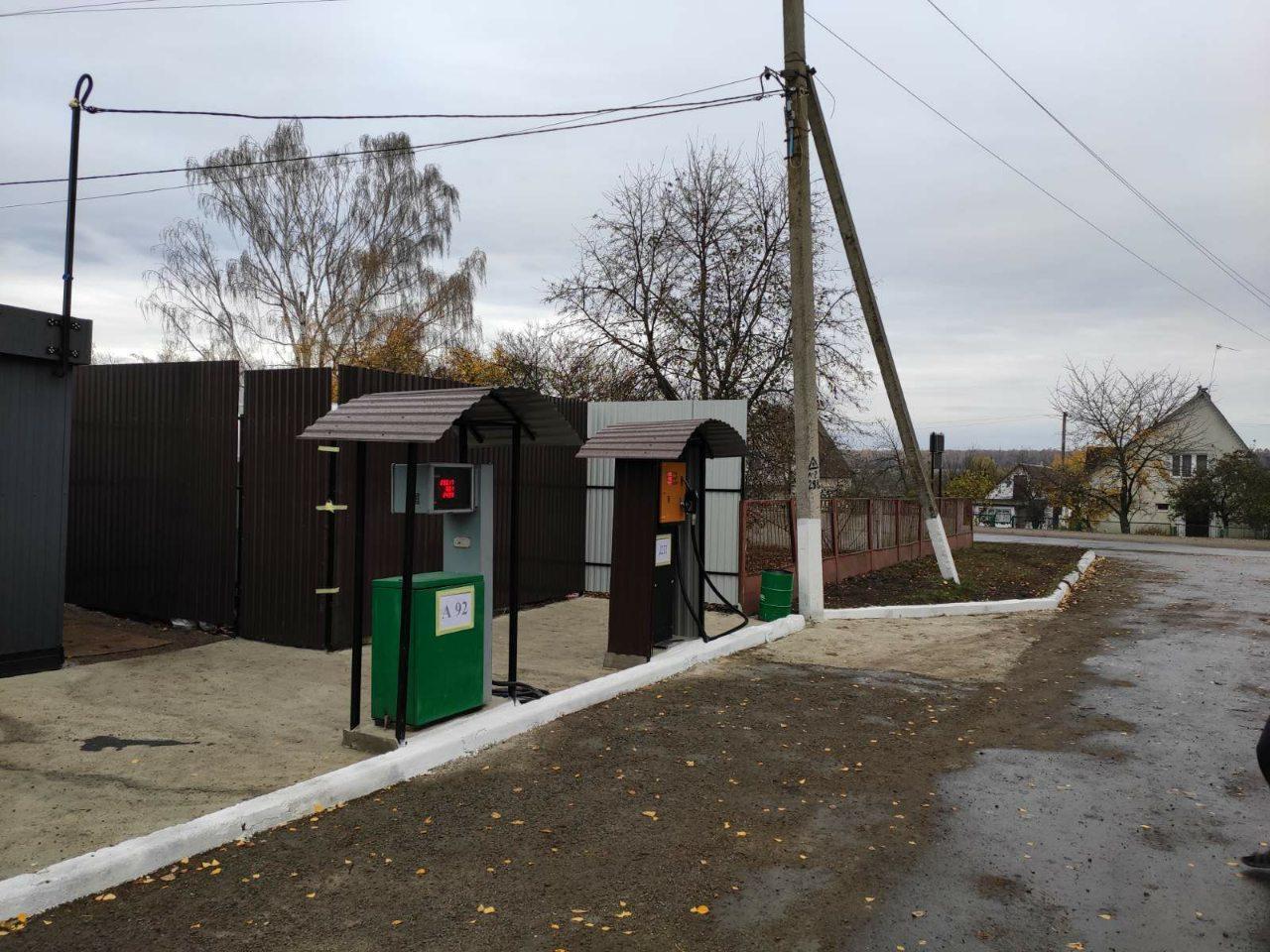 На Вінниччині нелегально діяла автозаправна станція (Фото)