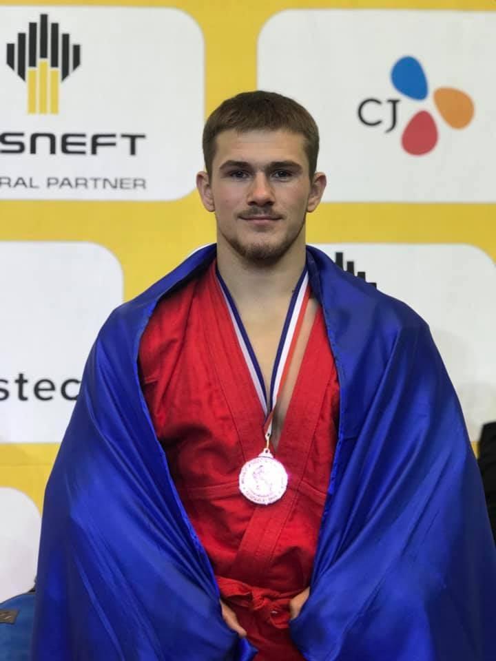 Спортсмен з Вінничични став бронзовим призером чемпіонату світу із бойового самбо (Фото)