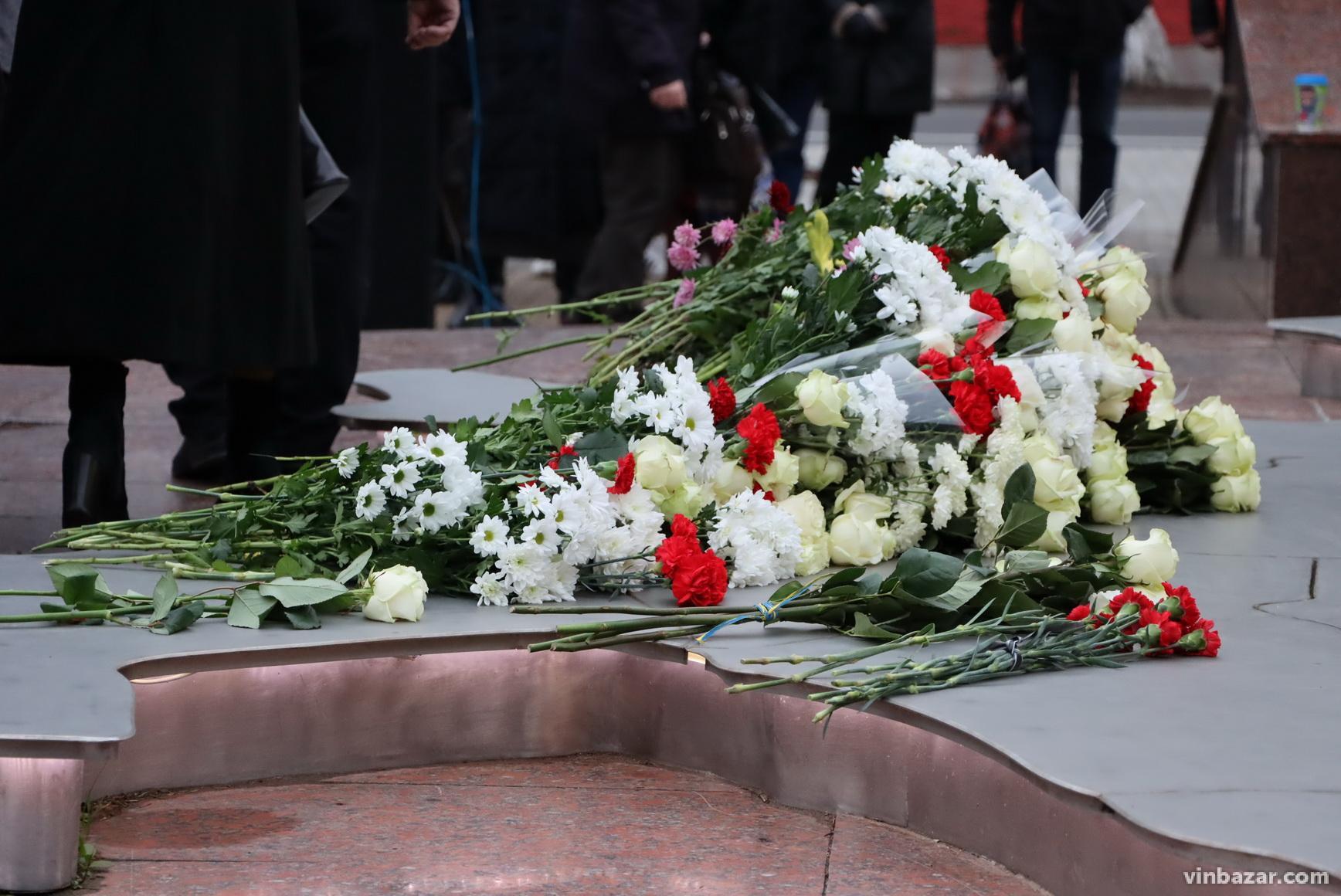 У Вінниці вшанували пам'ять Героїв Небесної Сотні (Фото)