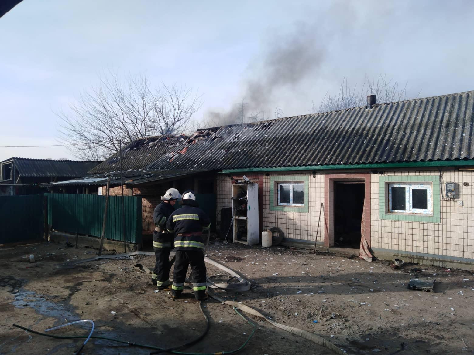 У Тиврівському районі сталося дві пожежі (Фото)