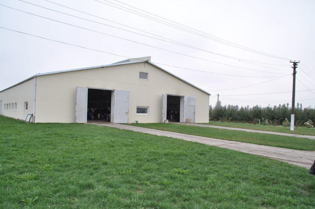 У Вінницькій області будують першу на пострадянському просторі роботизовану ферму (Фото)
