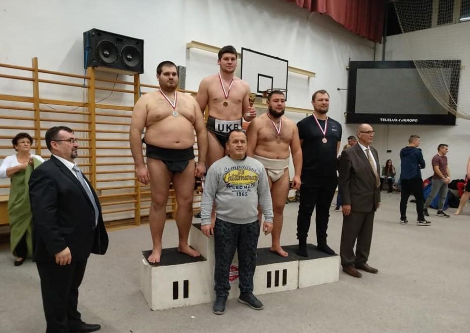 Вінничани вибороли 9 золотих медалей на міжнародному турнірі з сумо (Фото)