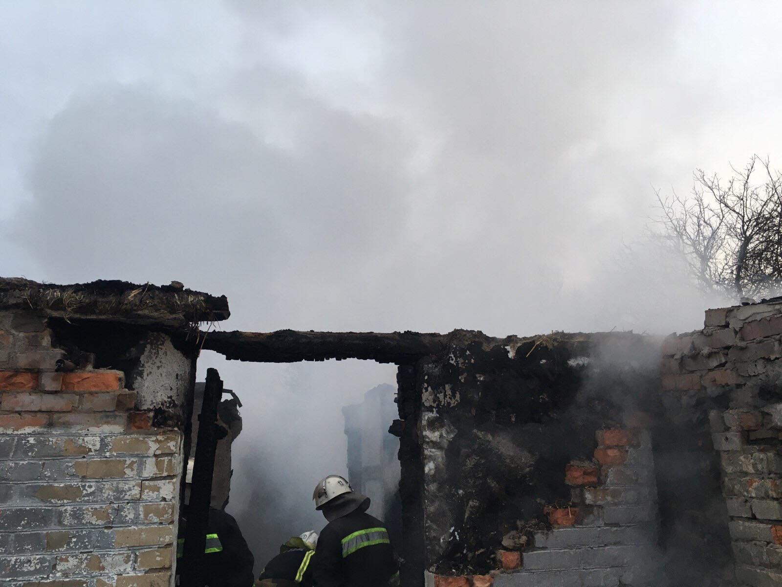 У Немирівському районі під час пожежі загинула 84-річна жінка (Фото)