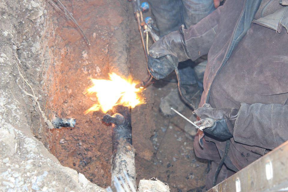 У Вінницьких Хуторах боржник, якому відрізали газ, самовільно під'єднався до мережі (Фото)