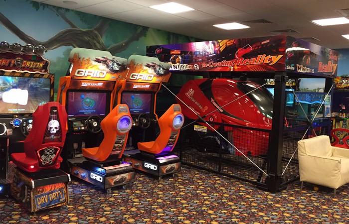 Игровые автоматы в LES Art Resort