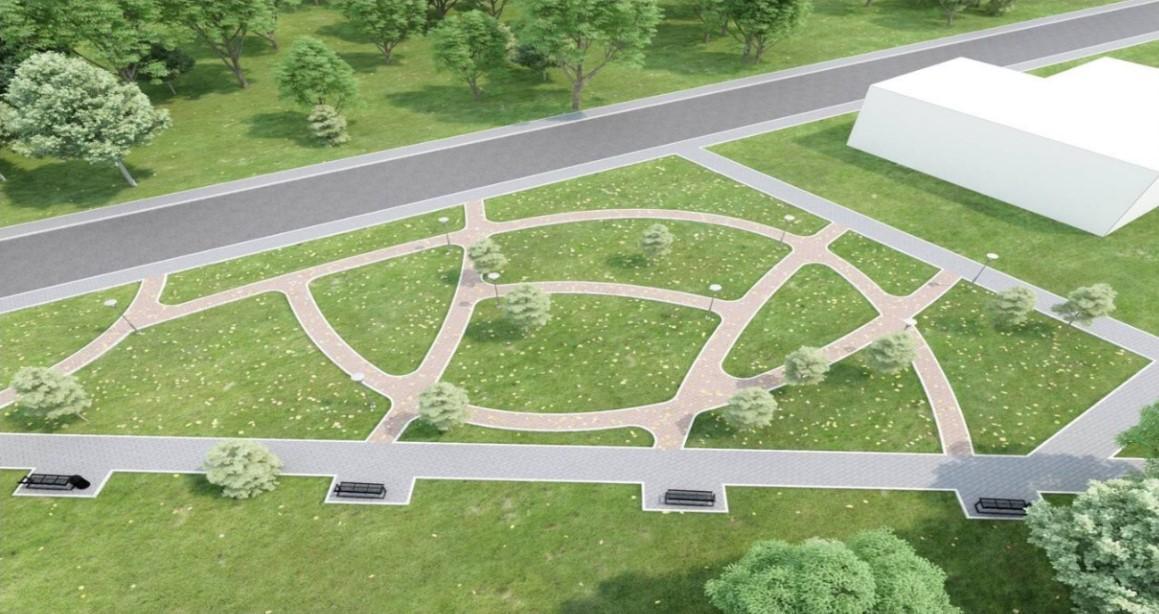 У Тяжилові планують облаштувати сцену з амфітеатром та фонтанну площу (Фото)