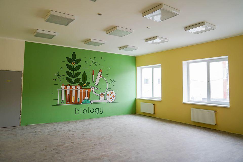 Будівництво нової школи на