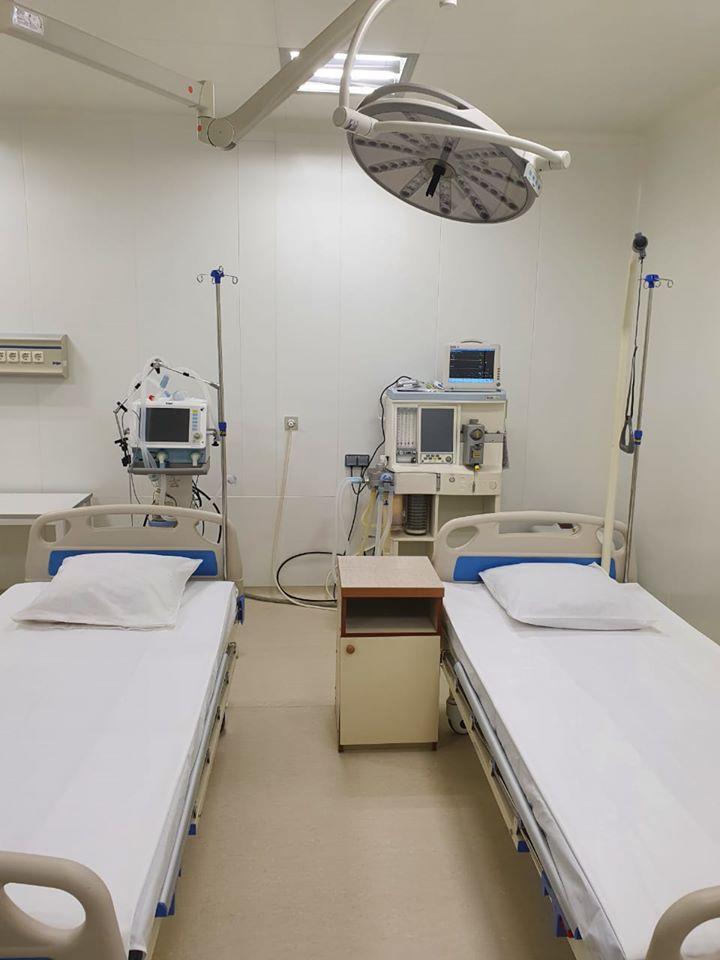 У Вінниці обладнали сучасну реанімацію, де рятуватимуть важких хворих на коронавірус (Фото)