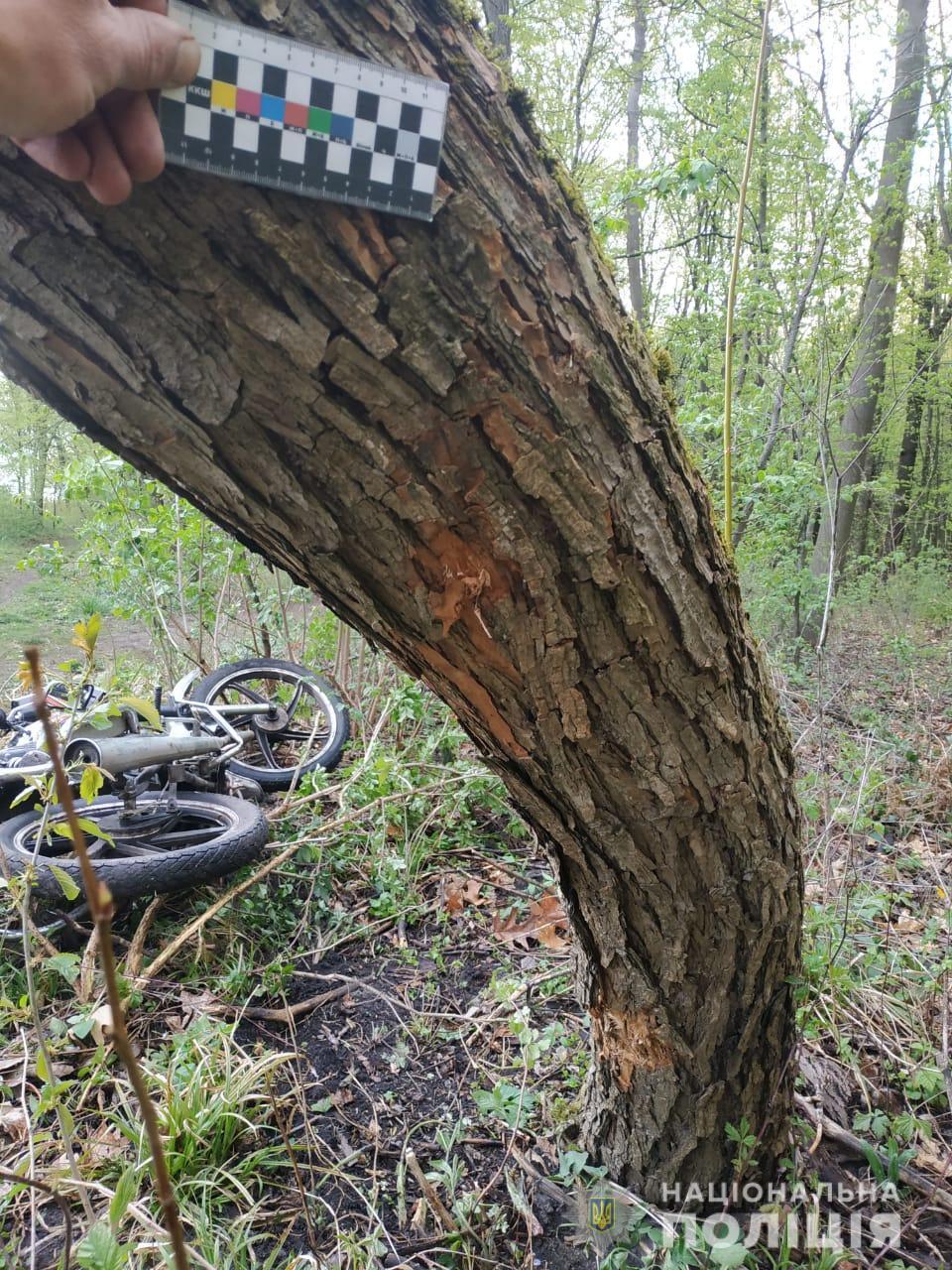 У Козятинському районі 13-річний хлопець розбився на мотоциклі брата (Фото)