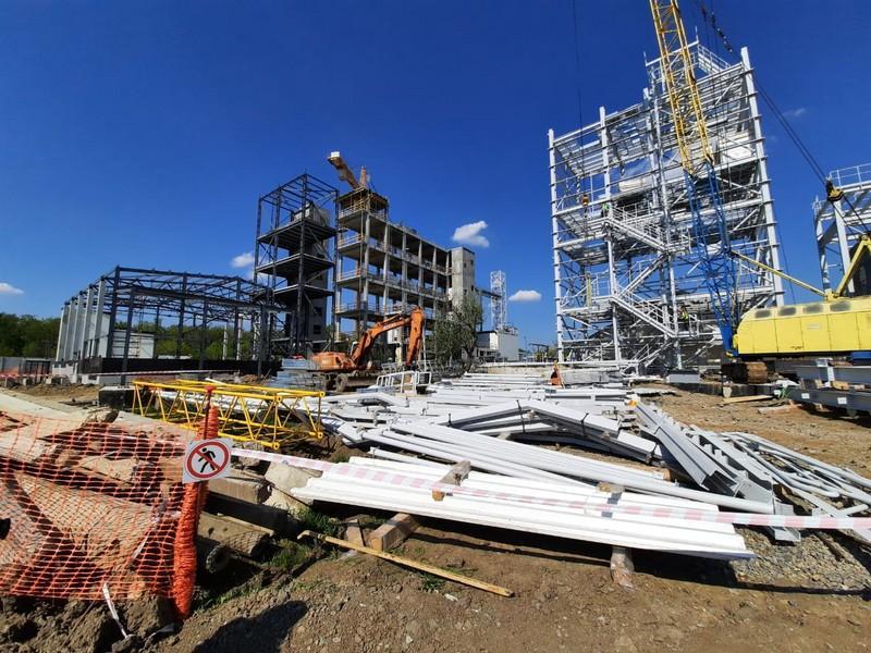 У Тростянецькому районі будують завод з переробки кукурудзи (Фото)