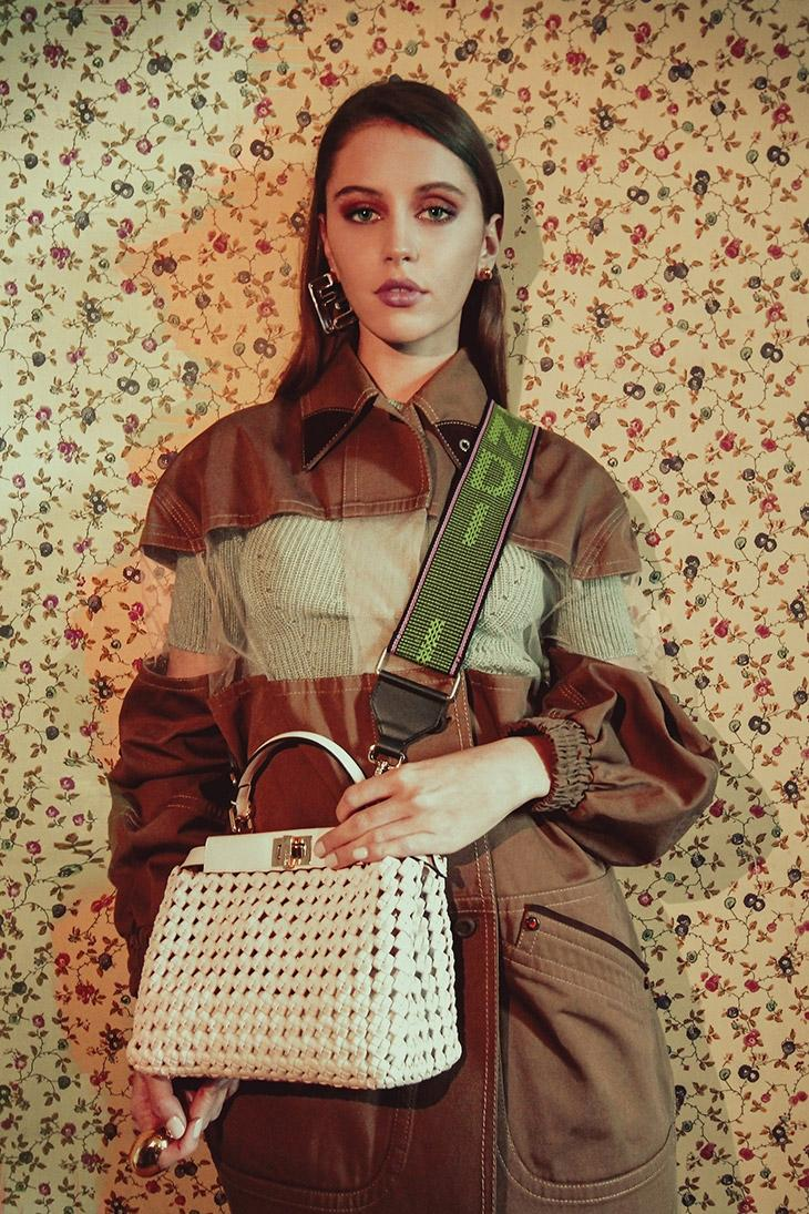 Дочь актера Джуда Лоу стала лицом новой рекламной кампании Fendi