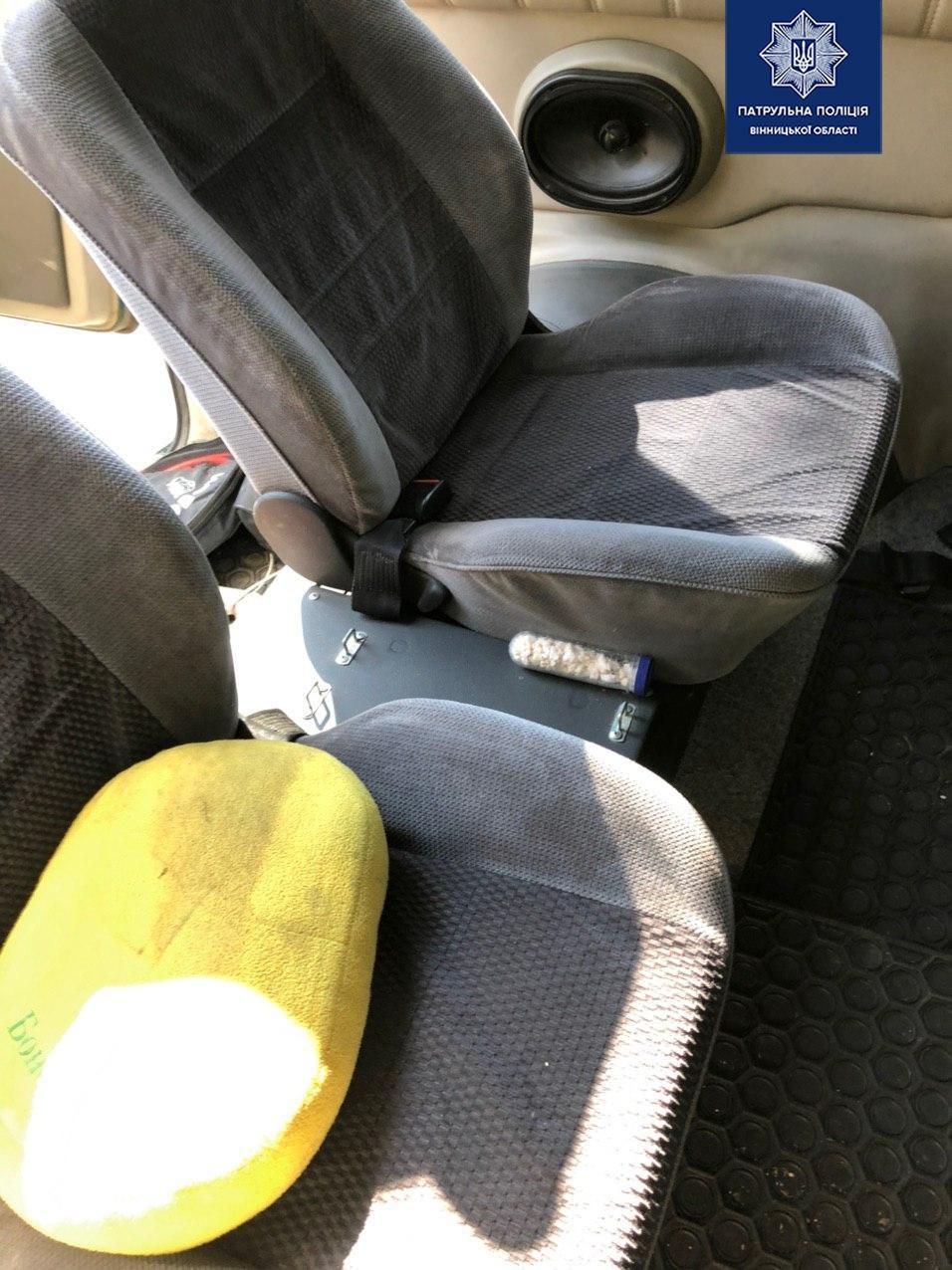 У Вінниці пасажири таксі перевозили наркотики (Фото)