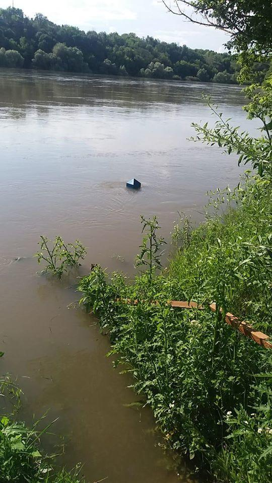 На Вінниччині повінь підтопила прикордонні ділянки та змила поромний причал (Фото)
