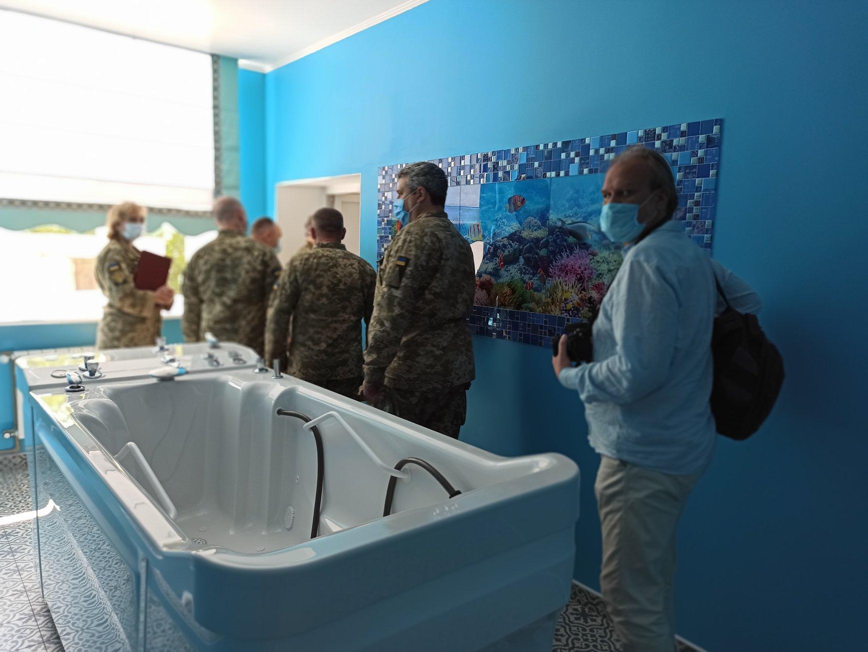 У Військово-медичному клінічному центрі Вінниці відкрили відремонтоване травматологічне відділення (Фото)