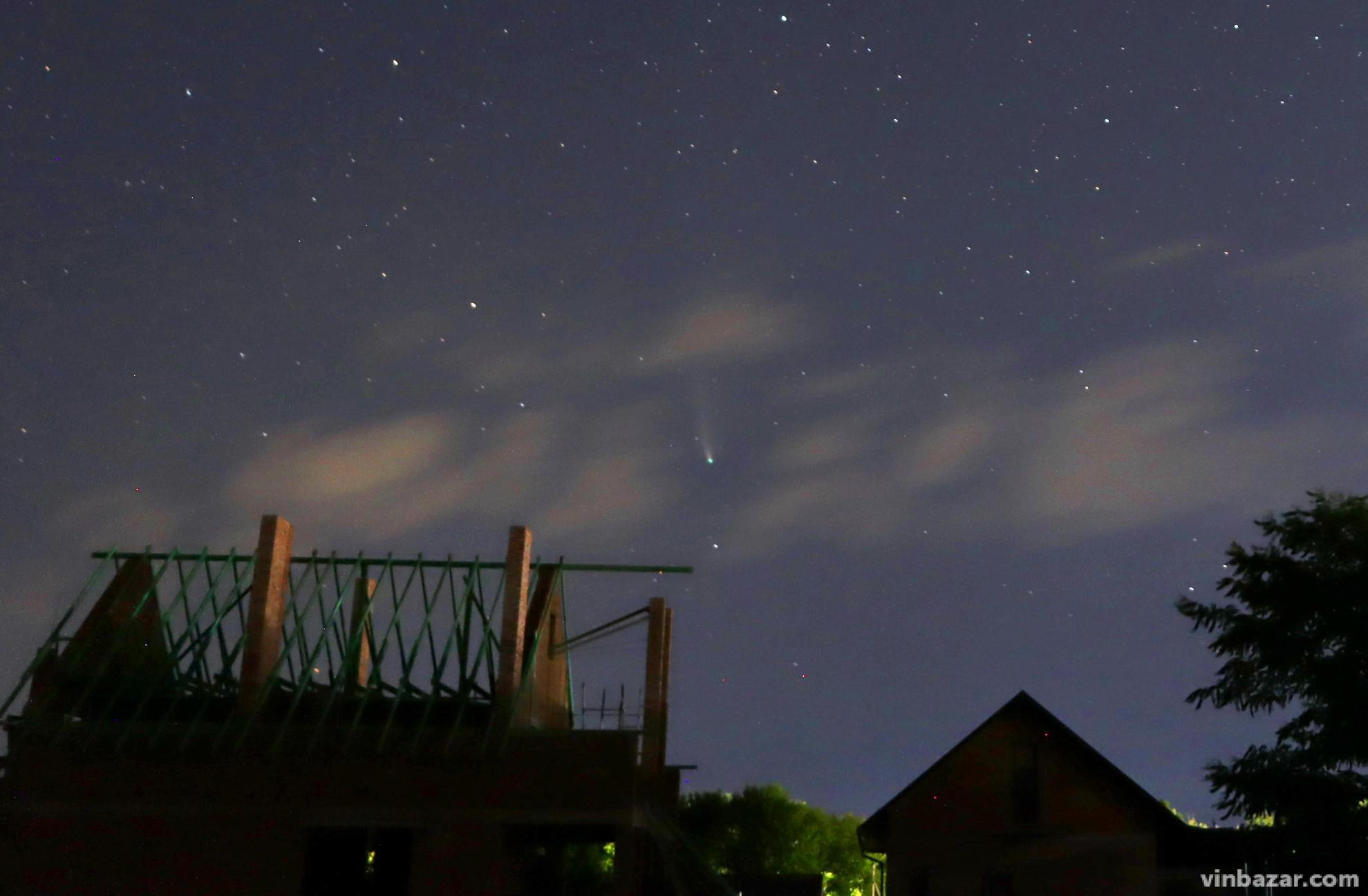 Комета Neowise в небе над Винницей (фото), фото-2