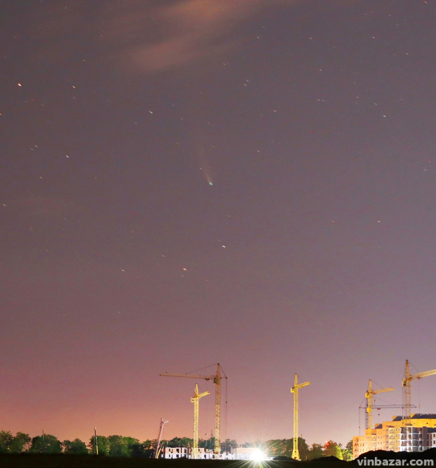 Комета Neowise в небе над Винницей (фото), фото-4