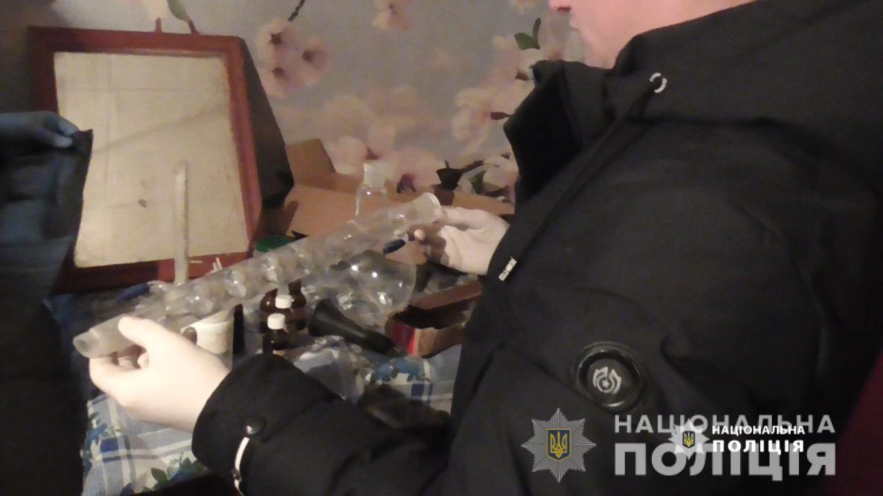 У Немирівському районі чоловік організував нарколабораторію (Фото)