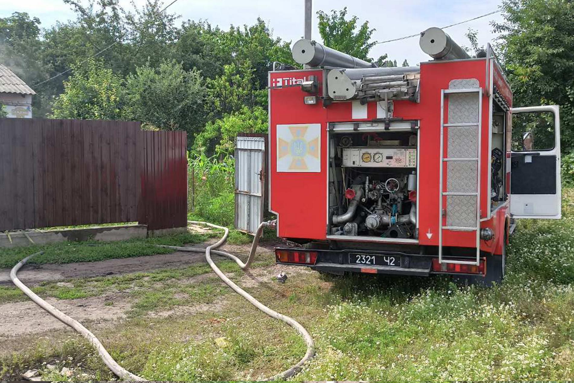 У Вінниці через несправну електрику загорівся будинок (Фото)