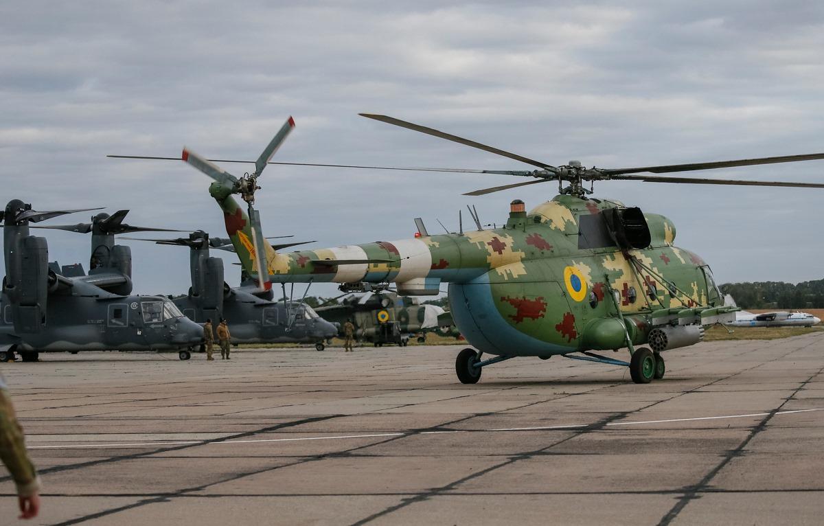 У Сутисках українські та американські спецпризначенці провели спільне десантування (Фото)
